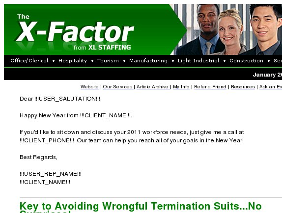 60 Second Solutions: Avoid wrongful termination suits