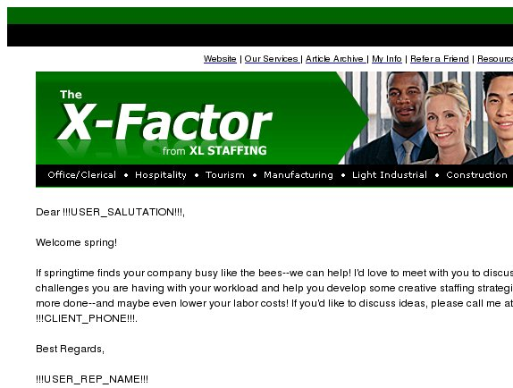 The X-Factor: Put an End to Employee Time Wasters